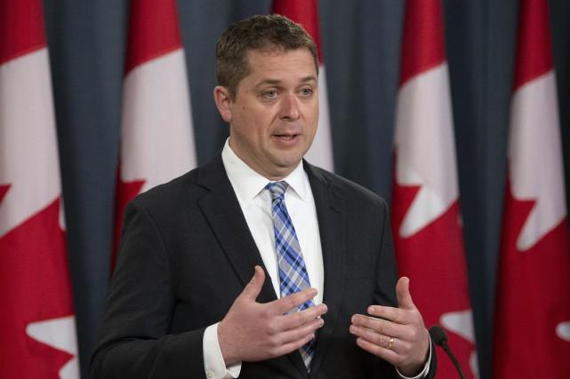 Andrew Scheer... (PHOTO ADRIAN WYLD, ARCHIVES LA PRESSE CANADIENNE)