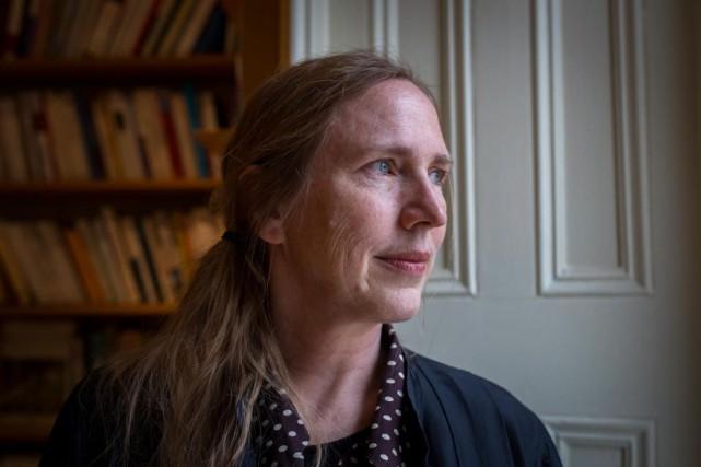 L'écrivaine Miriam Toews... (PHOTO OLIVIER JEAN, LA PRESSE)