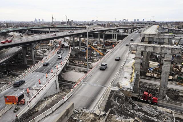Les autoroutes qui traversent l'échangeur Turcot seront à... (PHOTO EDOUARD PLANTE-FRÉCHETTE, LA PRESSE)