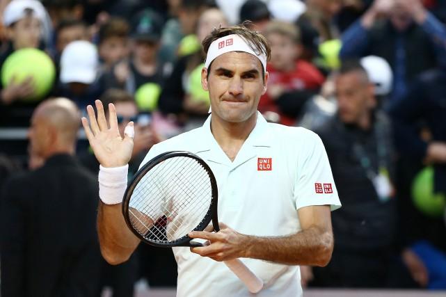 Roger Federer avait annoncé tardivement la semaine dernière... (PHOTO MATTEO CIAMBELLI, REUTERS)