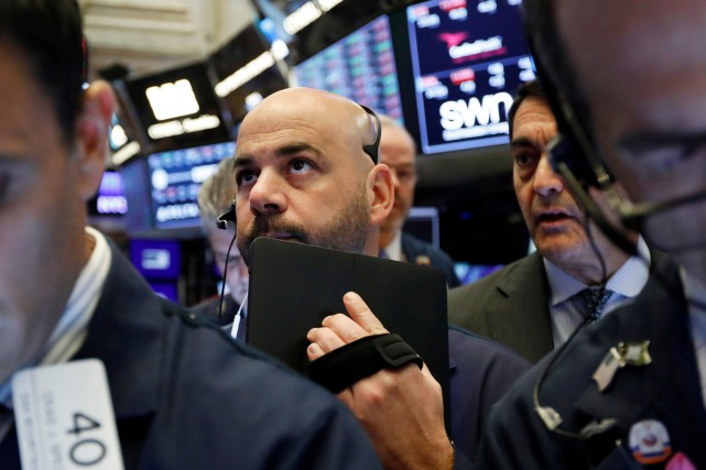 La Bourse de New York avait de fait... (PHOTO RICHARD DREW, ARCHIVES ASSOCIATED PRESS)