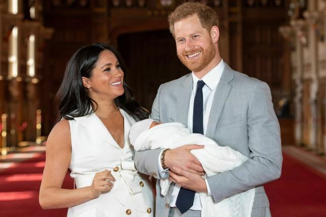 Le prince Harry et son épouse Meghan ont... (PHOTO DOMINIC LIPINSKI, ARCHIVES ASSOCIATED PRESS)