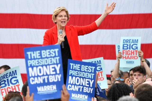 Elizabeth Warren... (PHOTO MANDEL NGAN, AGENCE FRANCE-PRESSE)