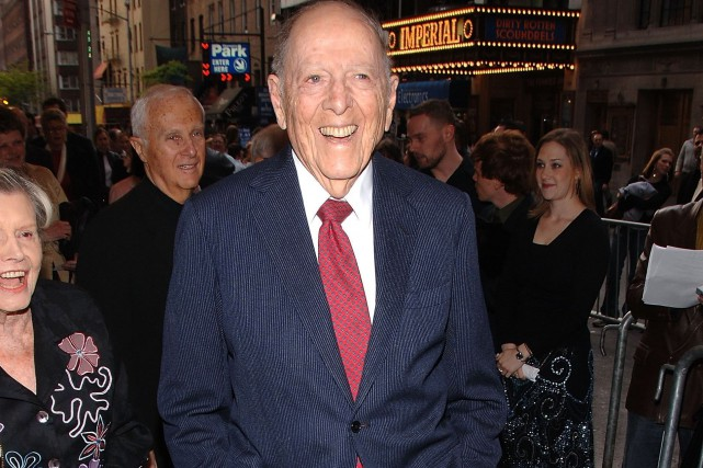 Herman Wouk en mai 2006... (PHOTO ANDREW H. WALKER, ARCHIVES AFP)