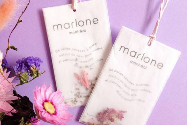 Du chandail à la fleur: chaque t-shirt vient... (PHOTO FOURNIE PAR MARLONE)