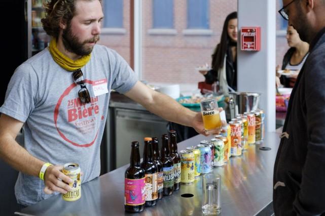 Le Mondial de la bière de Montréal se... (PHOTO OLIVIER BOURGET, FOURNIE PAR LE MONDIAL DE LA BIÈRE)
