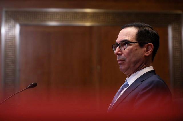 Le secrétaire au Trésor Steve Mnuchin.... (PHOTO JONATHAN ERNST, ARCHIVES REUTERS)