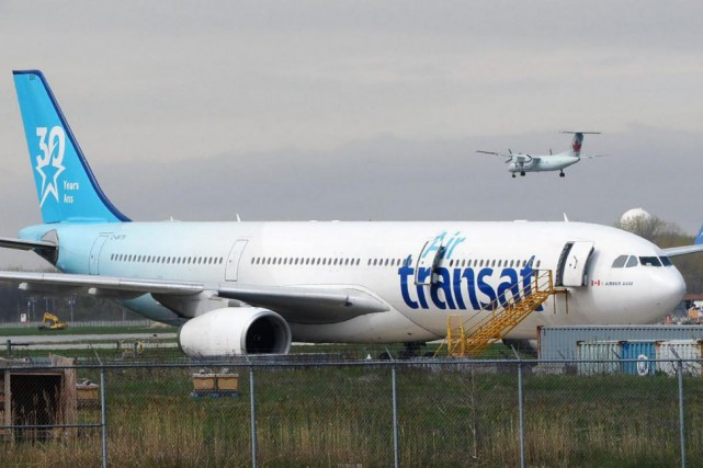 Quelque 658 pilotes travaillent pour Air Transat.... (PHOTO RYAN REMIORZ, LA PRESSE CANADIENNE)