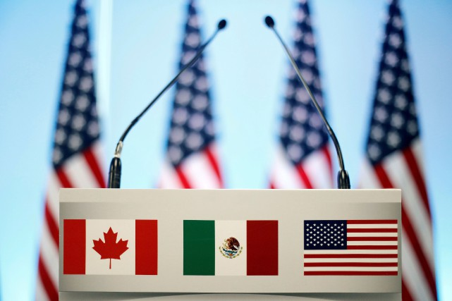 Le nouvel accord liant États-Unis, Canada et Mexique... (PHOTO EDGARD GARRIDO, ARCHIVES REUTERS)