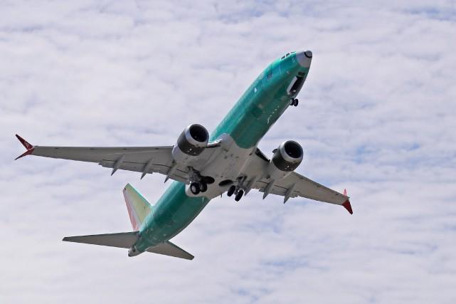 Boeing a pour la première fois reconnu samedi des défauts liés au 737 MAX... (PHOTO TED S. WARREN, AP)