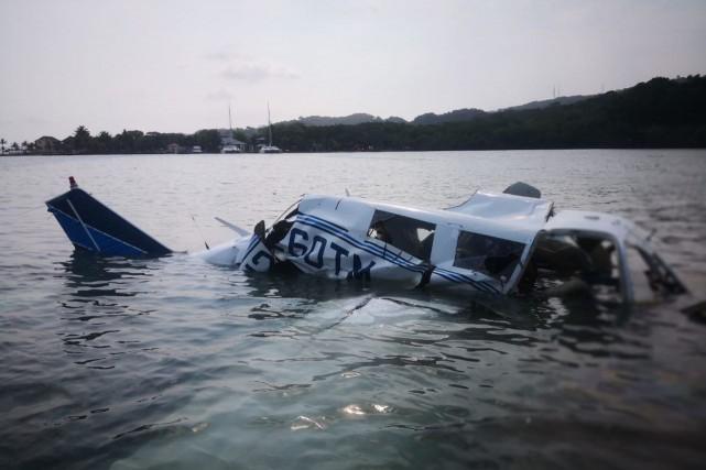Un citoyen canadien a été tué dans un accident d'avion au Honduras, a rapporté... (PHOTO HO, AFP)
