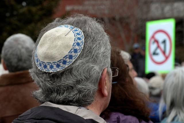 Hausse de la discrimination, de la détresse psychologique, des crimes haineux:... (PHOTO ROBERT SKINNER, ARCHIVES LA PRESSE)