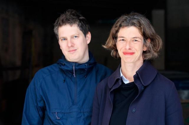 L'auteurChristophe Bernard et la traductriceNicola Denis... (PHOTOEDOUARD PLANTE-FRÉCHETTE, LA PRESSE)