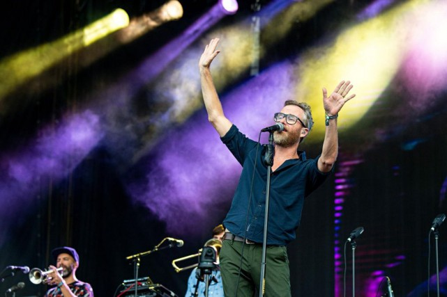 Matt Berninger de The National... (PHOTO AMY HARRIS, ARCHIVES INVISION/ASSOCIATED PRESS)