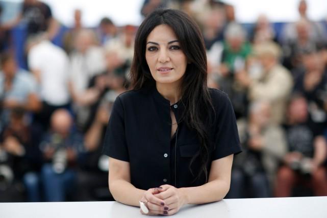 La réalisatrice Maryam Touzani a présenté Adam dans... (PHOTO STEPHANE MAHE, REUTERS)