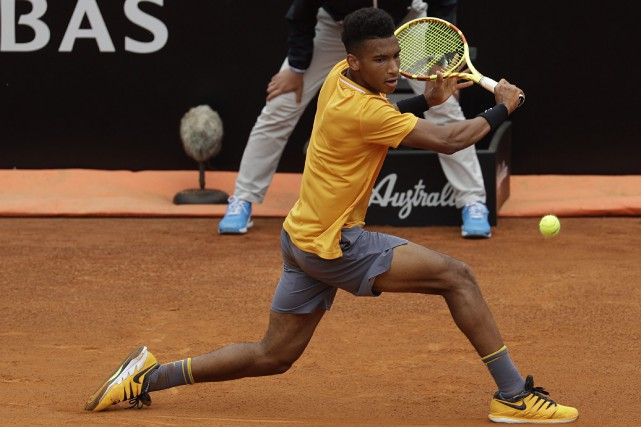 Félix Auger-Aliassime... (PHOTO GREGORIO BORGIA, ARCHIVES ASSOCIATED PRESS)