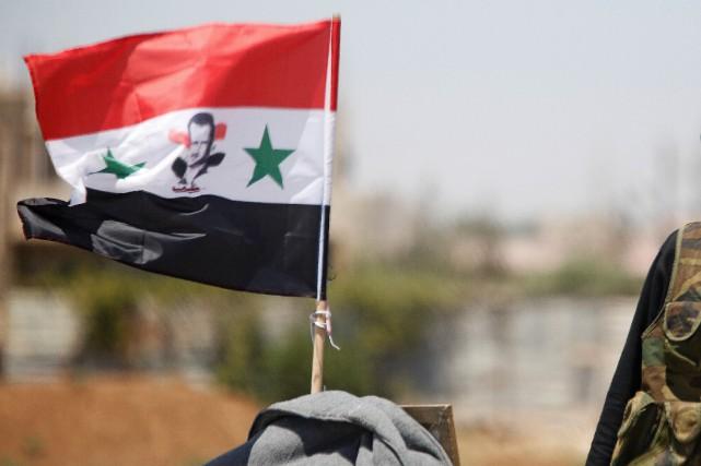 Les États-Unis ont fait état mardi d'«indications» selon lesquelles le régime... (PHOTO OMAR SANADIKI, ARCHIVES REUTERS)