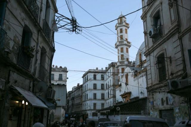 La vieille ville d'Alger, en Algérie... (PHOTOMOSA'AB ELSHAMY, ARCHIVES ASSOCIATED PRESS)