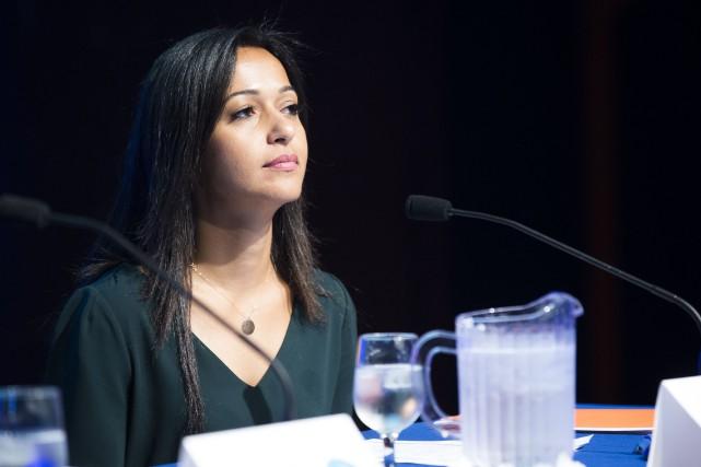 La députée de Mercier de Québec solidaire, Ruba... (PHOTO OLIVIER PONTBRIAND, ARCHIVES LA PRESSE)