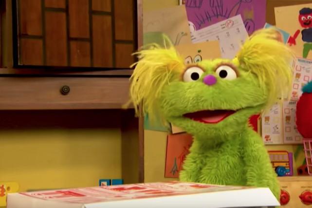 Sesame Street, mythique émission américaine pour enfants, a... (PHOTO TIRÉE D'UNE VIDÉO)
