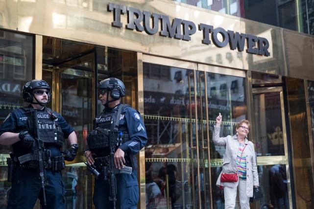 La Trump Tower, à Manhattan. ... (PHOTO AP)