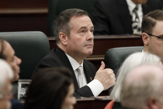 le premier ministre albertain Jason Kenney.... (PHOTO JASON FRANSON, LA PRESSE CANADIENNE)