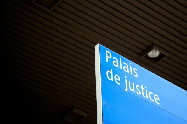 L'agresseur doit revenir en cour demainau palais de... (PHOTO SARAH MONGEAU-BIRKETT, ARCHIVES LA PRESSE)
