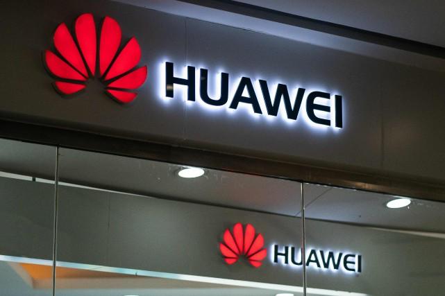 L'équipementier en télécommunications Huawei, soupçonné d'espionnage potentiel par... (PHOTO FRED DUFOUR, AFP)