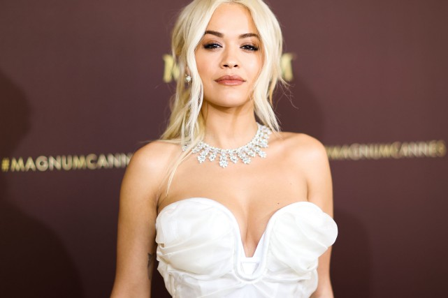La chanteuse Rita Ora... (PHOTO VALERY HACHE, AFP)