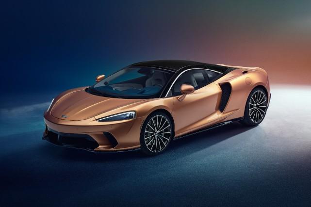La McLaren GT est une supervoiture exotique avec... (PHOTOS MCLAREN)