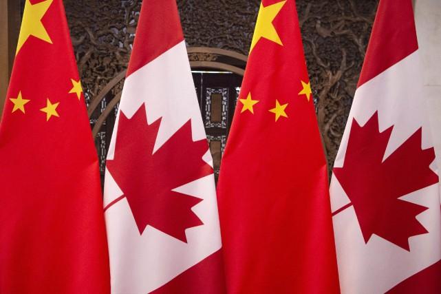 «Pour des raisons évidentes, les relations sino-canadiennes actuelles... (PHOTO FRED DUFOUR, ASSOCIATED PRESS)