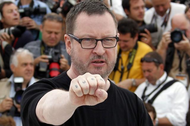 2011: Lars von Trier, en compétition avec Melancholia,... (PHOTO FRANCOIS GUILLOT, ARCHIVES AFP)