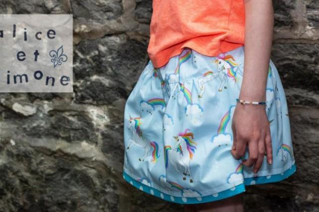 Isabelle Deslauriers, designer de la marque Alice et... (PHOTO TIRÉE DE FACEBOOK)