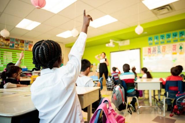 En 2018, 164professeurs ont démissionné de laCommission scolaire... (PHOTO HUGO-SÉBASTIEN AUBERT, ARCHIVES LA PRESSE)