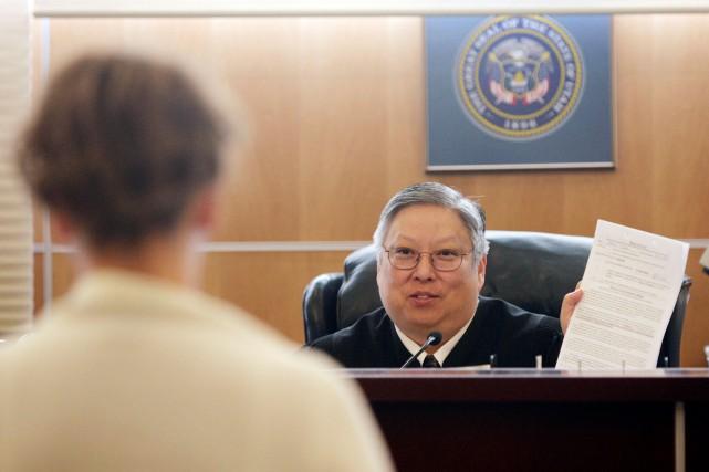 Le juge Michael Kwan.... (PHOTO JEFFREY D. ALLRED, AP)