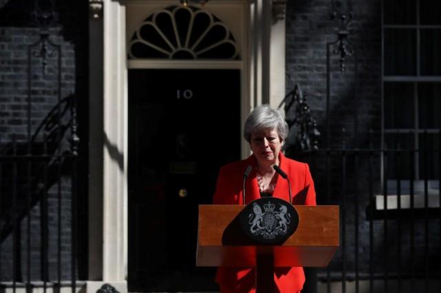 Arrivée au pouvoir dans la foulée du référendum... (PHOTOSIMON DAWSON, REUTERS)