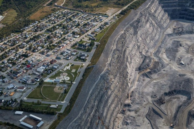 La mine Canadian Malartic, àMalartic... (PHOTO MARTINTREMBLAY, ARCHIVES LA PRESSE)