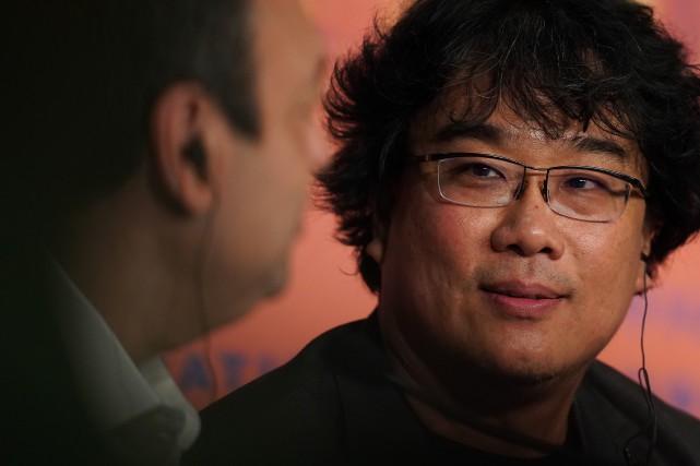 Parasite du Sud-Coréen Bong Joon-ho remporte la Palme d'or à Cannes