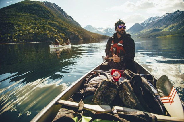 L'aventurier Martin Trahan durant une expédition... (PHOTO JAY KOLSCH, FOURNIE PAR MARTIN TRAHAN)