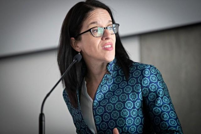Sonia LeBel, ministre de la Justice... (PHOTO PATRICK SANFAÇON, ARCHIVES LA PRESSE)