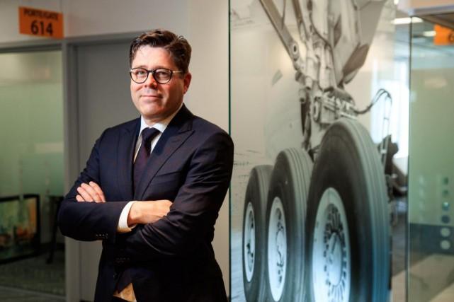 Martin Brassard, nouveau PDG de Héroux-Devtek... (PHOTO HUGO-SÉBASTIEN AUBERT, LA PRESSE)