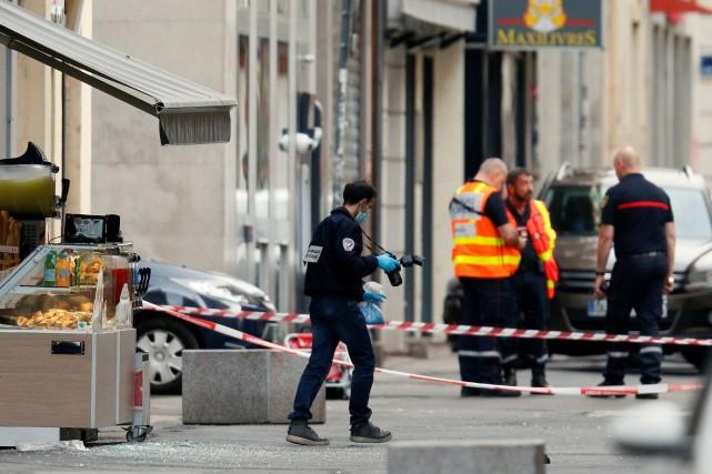 Lyon: le suspect reconnaît avoir conçu le colis piégé