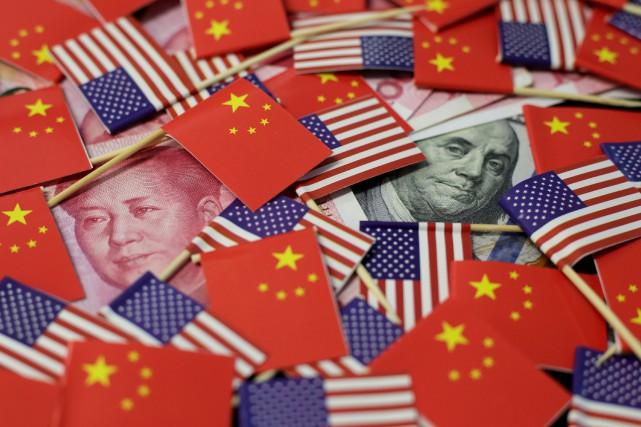 La Chine a jugé jeudi que la guerre commerciale bilatérale lancée par le... (PHOTO JASON LEE, ARCHIVES REUTERS)