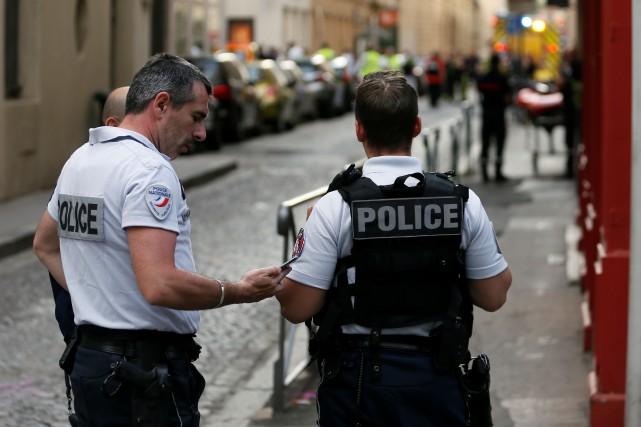 Colis piégé à Lyon: le suspect a prêté allégeance à l'EI