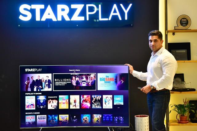 Le cofondateur et PDG de Starz Play, Maaz... (PHOTO GIUSEPPE CACACE, AGENCE FRANCE-PRESSE)