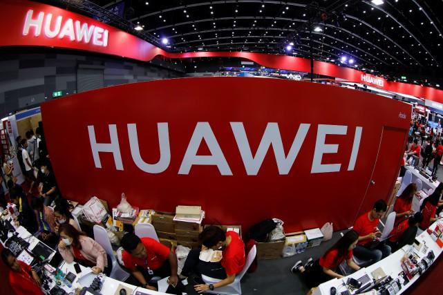 Huawei a été placé en mai par Washington... (PHOTO JORGE SILVA, REUTERS)