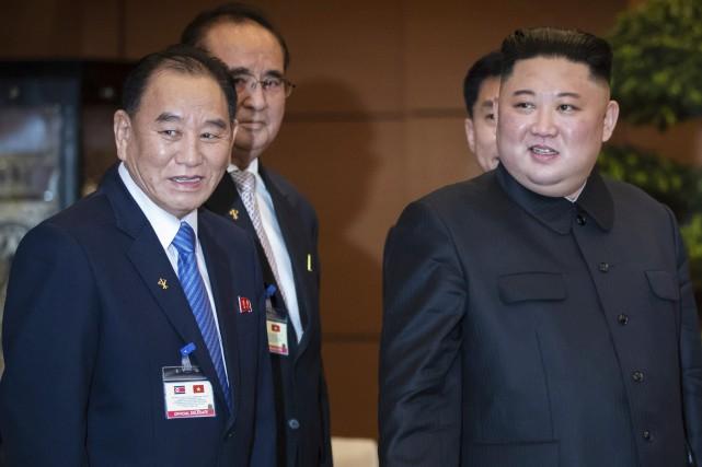 Le quotidien sud-coréen Chosun Ilbo rapportait vendredi que... (PHOTO SEONGJOON CHO, AP)