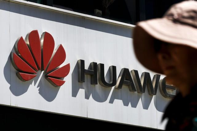 L'offensive menée par les États-Unis contre Huawei n'a «pas d'effet» sur... (PHOTO ANDY WONG, AP)
