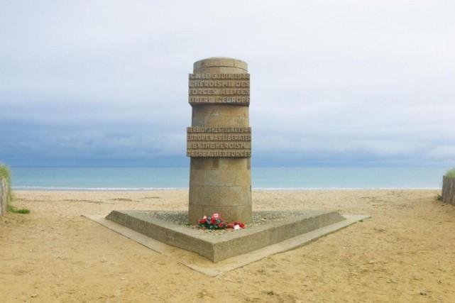 Juno Beach est l'endroit où les soldats canadiens... (PHOTO GETTY IMAGES)