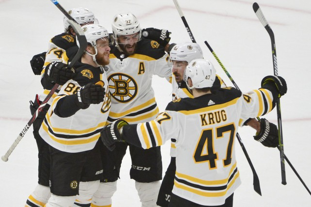 Les Bruins de Boston ne sont plus qu'à... (PHOTO JEFF CURRY, USA TODAY SPORTS)